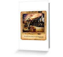 2010 Foxfires Calendar - October Greeting Card