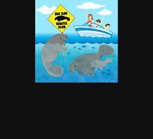 Boat Slow Manatees Below T-Shirt