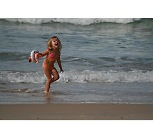Childs Play at the Beach (Part 2) Photographic Print