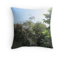 Pear Tree Throw Pillow