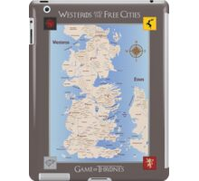 Game of Thrones Map iPad Case/Skin