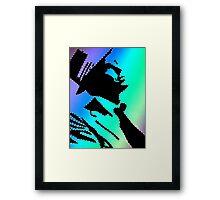 Sinatra under the rainbow Framed Print