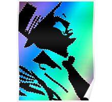 Sinatra under the rainbow Poster