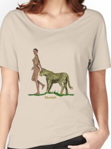 At Ease with Nature. Women's Relaxed Fit T-Shirt