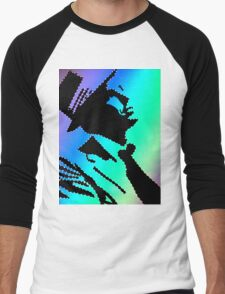 Sinatra under the rainbow Men's Baseball ¾ T-Shirt