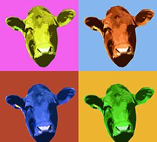 How now warhol cow? by Waggledance
