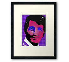 Dean Martin in living color Framed Print