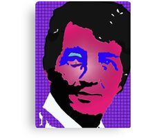 Dean Martin in living color Canvas Print