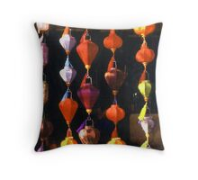 Paper Lanterns Throw Pillow
