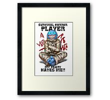 Gamer - Survival Horror Genre Framed Print