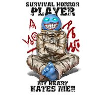 Gamer - Survival Horror Genre Photographic Print