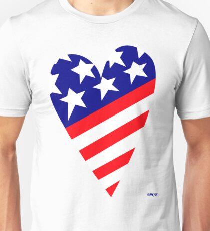 AMERICA'S CARING HEART Unisex T-Shirt