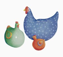 French Hens t-shirt by Mariana Musa