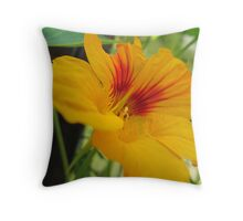 Leaf me alone! Throw Pillow