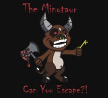 The Minotaur: Can You Escape?! by kozality
