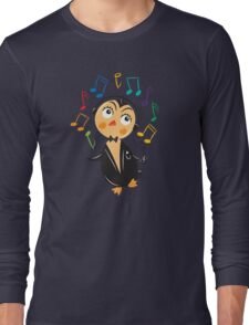 Penguin Listens Long Sleeve T-Shirt