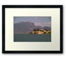"""Lake Garda""  Framed Print"