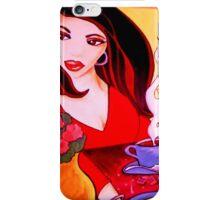 El Cafecito con Empanada/ Coffee & an Empanada iPhone Case/Skin