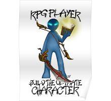 Gamer - RPG Genre Poster