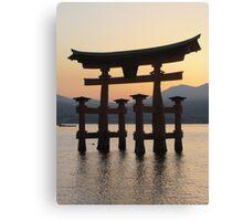 Itsukushima Torii Canvas Print