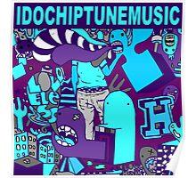 I Do Chiptune Music Poster