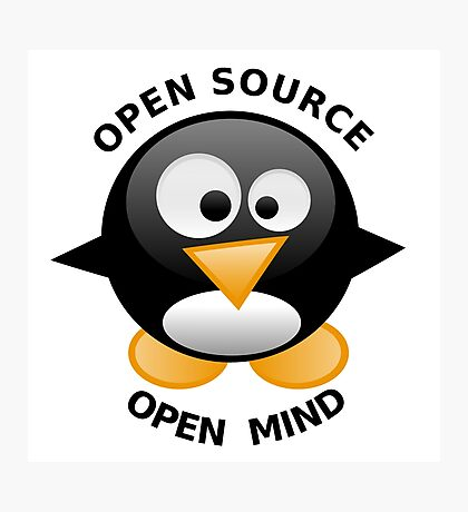 Open Source Open Mind Photographic Print