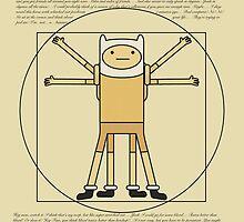 Finn the Vitruvian Man  by rywhal