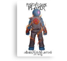 Gamer - Fighting Game Genre Metal Print