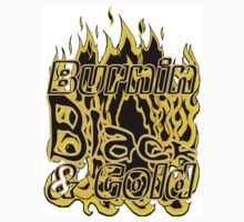Burnin Black & Gold by spaceyqt