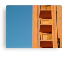 Blue and Orange from Florida  Canvas Print