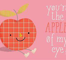 apple in love by silviarossana