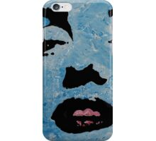 Marily in blue iPhone Case/Skin