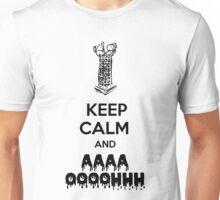 Keep Calm Micolash - Black  Unisex T-Shirt