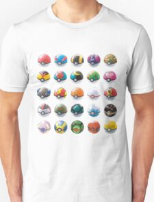 All those pokeball  T-Shirt