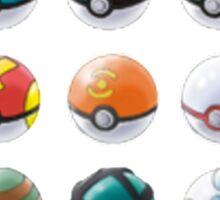 All those pokeball  Sticker