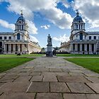 Old Royal Naval College, Greenwich, London by Carolyn Eaton