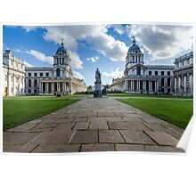 Old Royal Naval College, Greenwich, London Poster