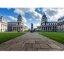 Old Royal Naval College, Greenwich, London Photographic Print