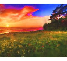 The Sunset Ocean View Photographic Print
