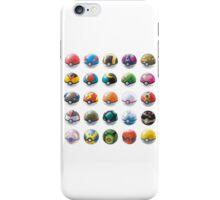 All those pokeball  iPhone Case/Skin