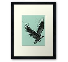 Eagle Curl Abstract Framed Print