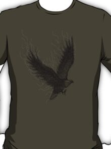 Eagle Curl Abstract T-Shirt