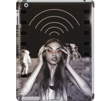 Searching wifi on the moon sexy hot girl blond swag dope trend trending spring nice fresh girl woman teen birthday cake blossom leaf nature hipster nightlife girl eye woman wedding party iPad Case/Skin