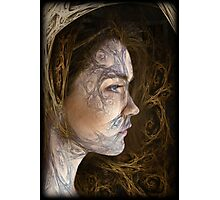 forest girl Photographic Print