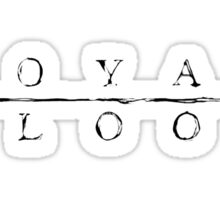 Royal Blood design Sticker