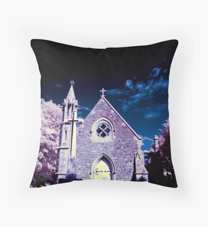 Radnor Street Chapel Throw Pillow