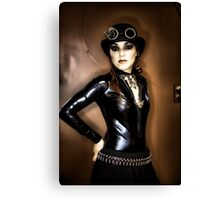 Steampunk Portrait Canvas Print