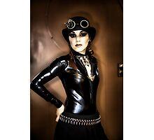 Steampunk Portrait Photographic Print