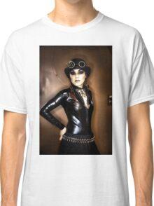 Steampunk Portrait Classic T-Shirt