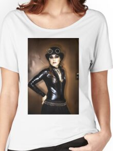 Steampunk Portrait Women's Relaxed Fit T-Shirt